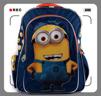Backpack Style Men Cartoon Girls Boy Mochila Infantil Kids Boy Backpack Despicable Me 2 Child School Bag Large Minion Plush 3D Cartoon Bag Gift for Kids Backpack Style