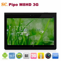 "10 inch Android 4.0 16GB 10.1"" Pipo M8HD 3G Tablet PC RK3188 Quad Core Android 4.2 IPS1920*1200 Dual Camera Built-in 3G BT HDMI 2G 16G"