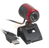Wholesale USB Clip WebCam Web Camera x Optical Zoom Up to Mega Pixels with MIC Microphone for Laptop PC