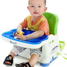 Wholesale Child plastic dining chair baby folding dining table and chairs baby chair toy chair