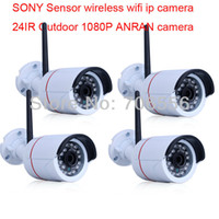 Yes Infrared IP Camera 4PCS 1080P 2.0 Megapixel HD SONY Sensor Wireless wifi Onvif outdoor Security IP CCTV Camera
