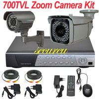 Box/Body Yes SU-2016 Free shipping new cheap best cctv system 2ch cctv kit IR sony effio 700TVL cctv surveillance security camera 4CH full D1 HD DVR