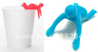 Other Household Sundries GJ-029 100% new Free shipping 20pcs lot Cupmen 3 Cupwomen Instant Noodle Figure Set of Three Cup ramen readiness indicators