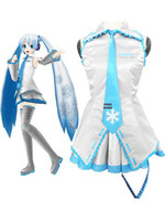 Wholesale Vocaloid Snow Miku Cotton Terylene Cosplay Costume sailor moon r79 u9 fru