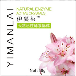 Wholesale YIMANLAI Natural Enzyme Active Crystals Soap Areola Bleaching Privates Skin Daily Essential Enzymes Advanced Enzyme System Plant Source