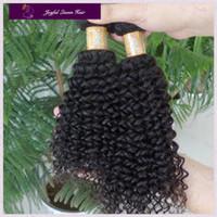 Malaysian Hair hair weaving  4pcs /lot Joyful queen 2pcs 3pcs 4pcs malaysian mix length human hair weaves 1b 1# 2# 4# color cheap kinky curly virgin hair bundles free shipping