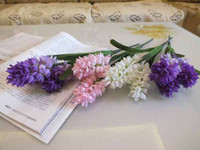 Wholesale New silk Flower Real Touch Artificial Flowers Hyacinth Home Garden Decoration K0459