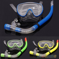 Wholesale Scuba Water Diving Swimming Equipment Dive Mask Dry Snorkel Set Scuba Snorkeling Gear Kit Sports