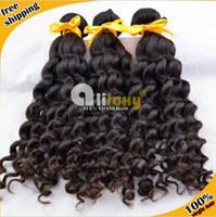 Wholesale best selling peruvian hair A grade peruvian deep wave no dry end double drawn mix length from
