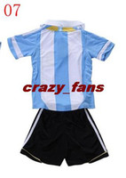 Wholesale Stylish Soccer Jerseys World Cup team Thai quality kids Soccer Uniform boys soccer jersey soccer club uniforms football shirt soccer wears