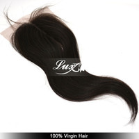 Wholesale BETST quality peruvian straight lace closure top lace closure queen hair extension virgin peruvian hair closure