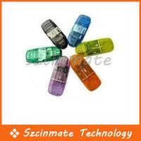 Wholesale USB SD SDHC MMC MEMORY CARD READER FOR GB GB GB