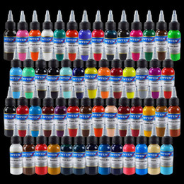 Wholesale Set Of Bottles New High Quality Tattoo Ink Colors x1OZ Pigment Supply by DHL