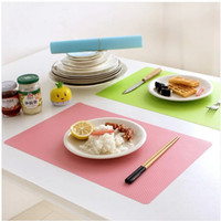Wholesale HOT ECO friendly PVC Household cloth pad and hotel Western food place mat fashion Anti fouling mat antiskid waterproof place mat Table mat