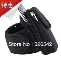 Wholesale Outdoor Running mobile arm sleeve arm package band wrist bag mobile phone bag for ip5 not2 one