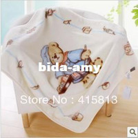 Wholesale baby fleece blanket child blanket raschel thicken air condition blanket cartoon blanket x90cm g