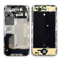 Wholesale for iPhone G S Plating Middle frame Chassis Assembly parts bezel housing DHL ship