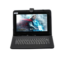 Wholesale iRuLu quot quot Inch Android Dual Core Tablet PC VIA8880 Capacitive GB Dual Camera HDMI WIFI quot Tablet Bundle quot Keyboard Case