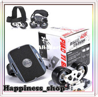 Wholesale amp Retail Outdoor BoLang freeline aluminium board drift skate wheel with Belt Xmas Gift Fast Ship