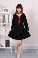 sexy school uniform - Hell Girl Enma ai Uniform cosplay Anime Costume Japan school student skirt dress