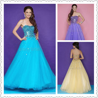 2014 Sweetheart Evening Dresses Floor- Length Customer Made C...