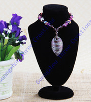 Wholesale mm Black Velvet Bust Necklace Jewelry Display Stand Fashion Jewelry Display