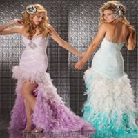 Cheap Reference Images high low prom dresses Best Sweetheart Chiffon, Net sweetheart beaded gowns