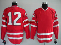 Ice Hockey Men Full 2014 Newest olympic Canada 12 iginla Hockey Jerseys Mens Red Jerseys 2014 New Athletic Apparel Hot Sports Jerseys Best Outdoor Uniform
