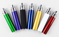 Wholesale OEM design eGo T Battery e cigarette mah mah mah ego t Battery for starter kit E cigs assorted Colors plastic pipe via DHL