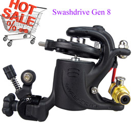 Wholesale New And Hot Sale Strong Motor Rotary Tattoo Machine Gun Swashdrive Gen Dragonfly Style Watt M628 Colors For Choose