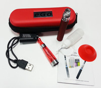 Wholesale eGo CE4 starter kit E cig CE4 Atomizer Clearomizer mah mah mah ego battery ego kit Zipper carry case via DHL