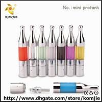 Wholesale mini protank atomizer ego electronic cigarette komjie new design cheap mini protank replacement glass tube protank ii