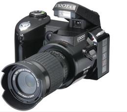 Wholesale New Polo Protax SLR D3000 Digital Camera MP TFT X Zoom Digital Camera HD Digital Video D3000 Telephoto digital camera High Quality
