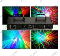 Wholesale Xmas Promotion price mW lens RGV color Laser DMX DJ Disco stage light show Equipment MYY8779