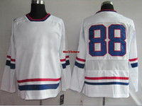 Ice Hockey Men Full Hockey Wears olympic ice hockey jerseys USA 88 kane players wears Hockey Apparel 2014 Discount Sports Uniform Cheap Outdoor Jerseys