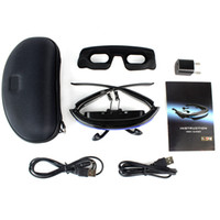 Wholesale E9007A New Virtual Private Theater System Display D Stereo GB Flash Video Glasses