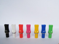 Wholesale Colorful Electronic Cigarette for Ego CE4 Clearomizer CE5 CE6 Cartomizer Atomizer Gadgets Mouth Mouthpiece Drip Head Tip Colors