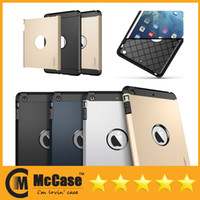 Wholesale A Quality SGP SPIGEN Tough Armor Case For iPad Mini Retina Shockproof Protive Cover For iPad Air iPad Mini Colors DHL Freeship