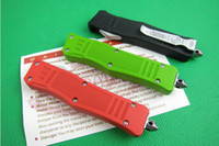 Wholesale MICROTECH troodon flick knife spring loaded knives tactical knife freeshipping