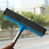 Wholesale Golden Delicious window glass brush brush handle extension removable glass blowing double sided glass cleaner