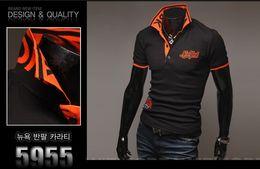 Wholesale 2014 NEW STYLE New York polo T Sleeve Shirt Lapel Brand POLO shirt