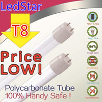 Wholesale T8 LED Tube Light Fluorescent replacement ft ft ft ft cm cm cm cm High Power W W W W eneergy saving led lights V