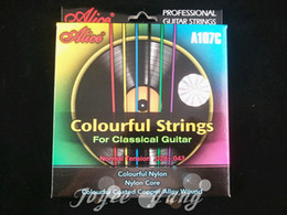 Wholesale Alice Colourful Clear Nylon Strings Classical Guitar Strings st th Strings Wholesales