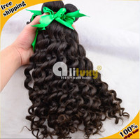 Virgin remy Hair Extension 4 Pieces/lot 2014 new arrival brazilian hair deep wave,6A grade quality, can be dyed and bleached ,4pcs lot=400g, free shipping