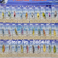 Wholesale 30Pcs Super Fishing Lures Crankbait Bass Baits Hooks Fishing Tackle NK30 TK0812