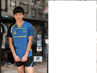 Wholesale 2035 Li Ning badminton clothing victory YY male and female badminton table tennis tennis clothes suit sports