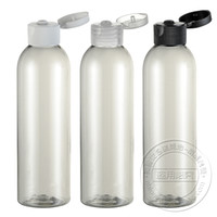 Wholesale EC102 ml bottle transparent clamshell Lotion bottles PET plastic bottles of shampoo bottles