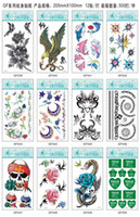 Eye ankle tattoo designs - 600Pcs Adult Temporary Body tattoo Fake Hundred Designs For Your Selection