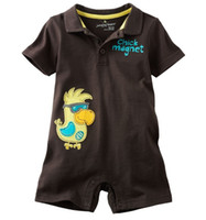 Summer jumping beans baby clothing - 2014 boy s bodysuit Jumping Beans Baby Shortalls Romper Baby One pieces Clothes Toddler Overalls Newborn chick Babywear M714H