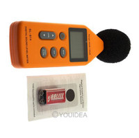 Wholesale LCD Audio Digital Sound Noise Level Meter Decibel Pressure Measure Monitor DB Logger Tester